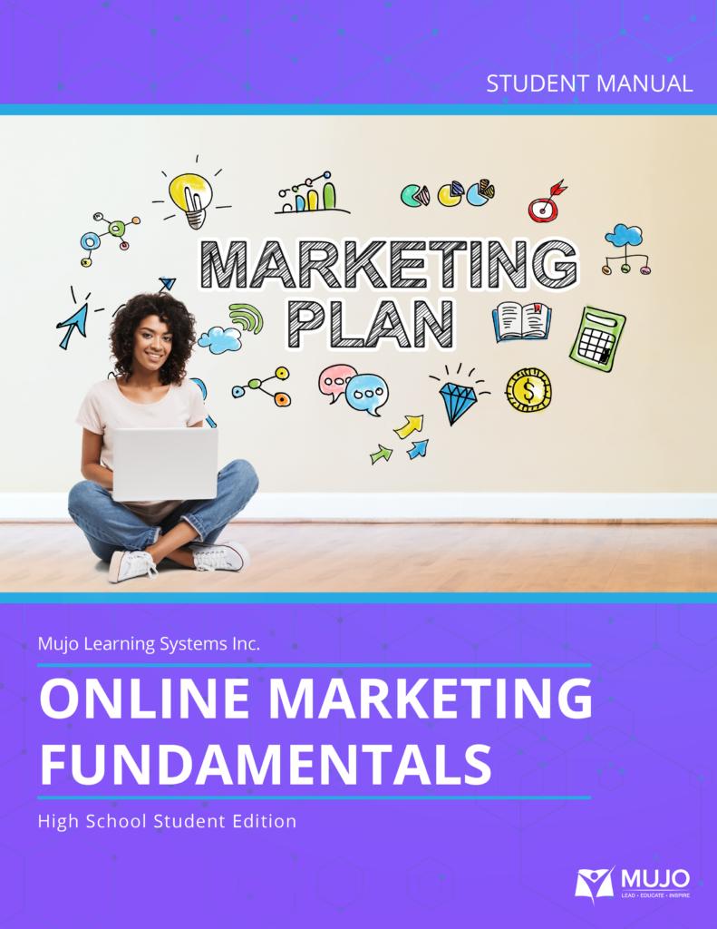 Online marketing fundamentals textbook and curriculum